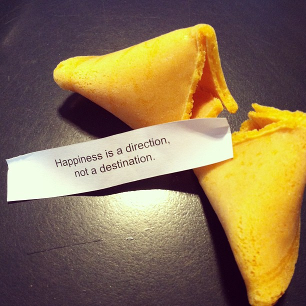 fortune cookie say...